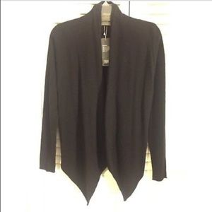 Eileen Fisher Cashmere Angled Front Cardigan NWT